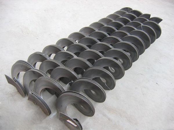 锰钢无轴螺旋叶片
