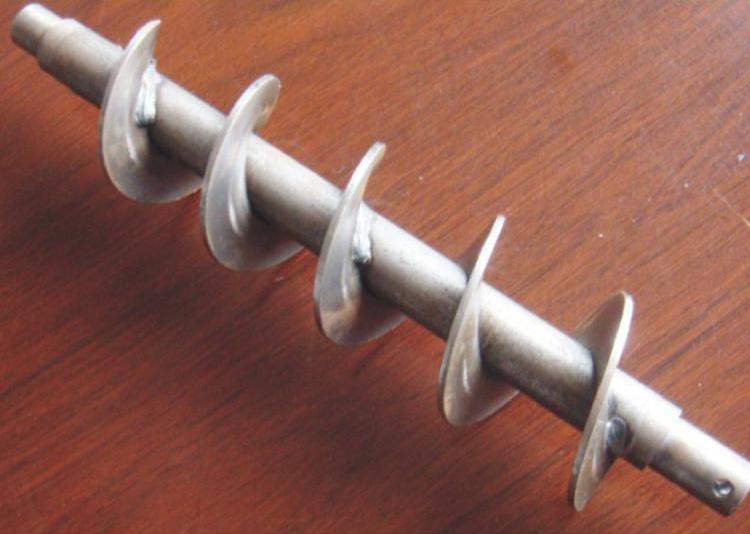 锥形有轴螺旋叶片
