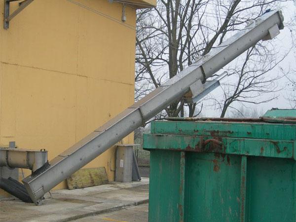 垃圾处理输送机